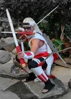 Killer Bee 8 at Katsucon 2014 by kakashi-shishio