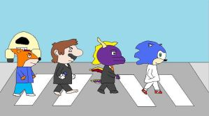 Video Game Abbey Road by hmcvirgo92