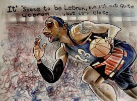 Lebron James by aaronphilby