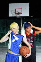Kuroko no Basuke One on One I by sharuruka