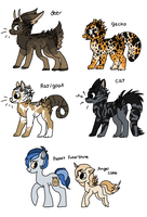 MISC ADOPTS 2 by Buttzazzle