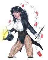 Hat Trick Zatanna by Dangerous-Beauty778