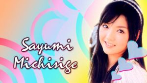 Sayumi Michishige Pale Ver. by RainboWxMikA