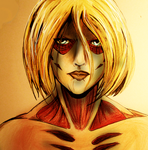 The Female Titan by SPAZTASTYCK