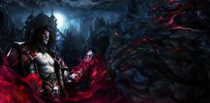 Castlevania: Lords of Shadow 2   Dracula Dragon by RenRenLotus