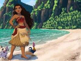 Moana by LadyAquanine73551