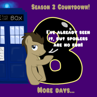 MLP Season 2 Countdown 8 DAYS by TuliothePillbug
