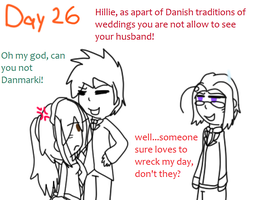 Day 26 - marry by poi-rozen