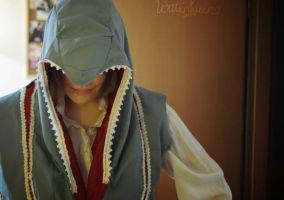 WIP Ezio Auditore Cosplay by Waterqueen-san