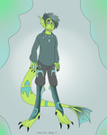 Stealthed Aquarius (Hatched egg adopt) by CannibalHarpy
