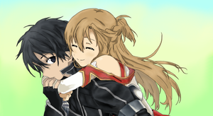 Asuna and Kirito by Ma2Ju
