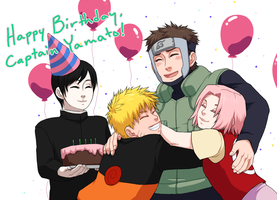 HBD Yamato - from the team by medli