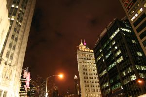 Michigan Avenue, Chicago by xpansis
