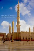 Madina Holly Mosque by ashamandour