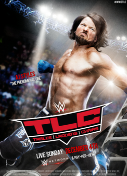 WWE TLC 2016 Official Poster by SidCena555