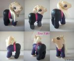 My little Pony Custom Doctor Who Rose Tyler by BerryMouse