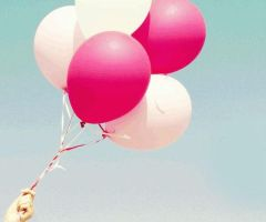 pink ballons by leehaneul