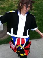Sora...before the new wig X_X by SasuInsanity