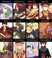 Art Summary 2012 by ymirre