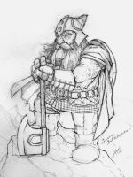 Bruenor Battlehammer by troubadour93