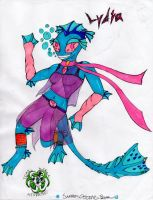 Aquatic Anthro  Adoptable - CLOSED by EyonSplicer