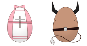 (CLOSED) Egg Adoptables #1 by Acetylace-Adopts