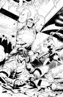 Red Hood and the Outlaws #4 by nefar007