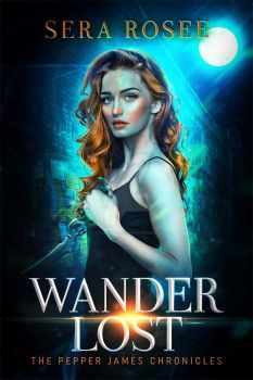 WANDER LOST fictional book cover by itznikki530