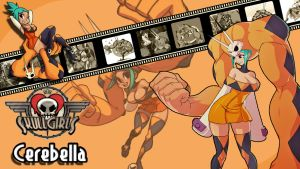 Skullgirls : Cerebella Wallpaper by ariff78