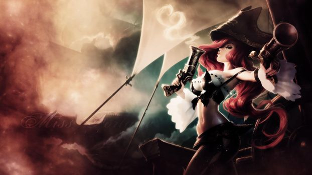 League Of Legends : Miss Fortune Wallpaper by iamsointense