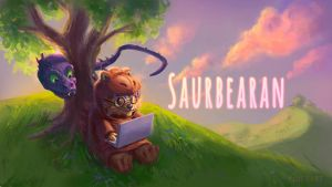 Youtube banner Commission- Saurbearan by Vimes-DA