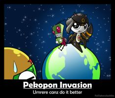 Umrere's Pekopon Invasion by FaiTakeruSachiko