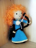 Merida Amigurumi by LesGloryDays30