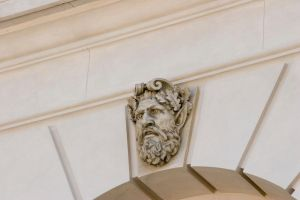 Statue 10 head on the wall by archaeopteryx-stocks