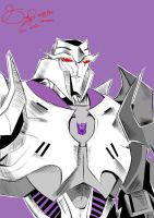 Transformers Prime Megatron by x3Soap3x