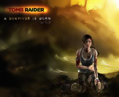 Tomb Raider 9 - A Survivor is Born by simochanny