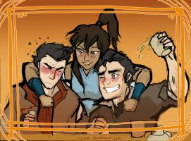 A Very Korra Birthday by Isaia