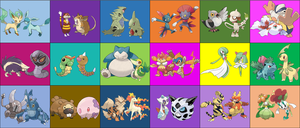 Contestants for Total Pokemon The Ridonculous Race by DEEcat98