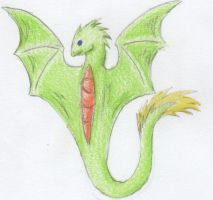 85) Draggy by Magicull-Delesia