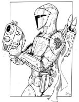 mando crusader by cujo86