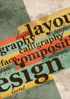 typography by bhrr