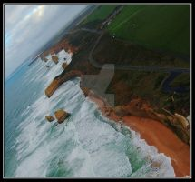 GreatOceanRoad-by air by ENiGMA926