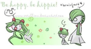 Be happy be hippie by verallien