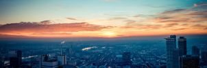 Skyline of Frankfurt am Main (germany) by homerlein