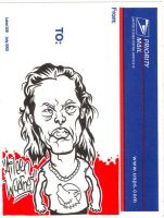 Aileen Wuornos Sticker by scumbugg