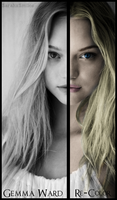 Gemma Ward - Re-Color by SarahxSmiles