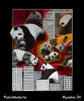 Panda Urbanization by roxannimal