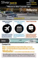 Melbourne Airport Transfer Services by silvercorporatecabs