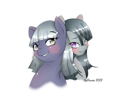 Blinkie and Inkie  no background by ShyMemories