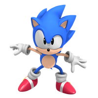 Classic Sonic! CD Pose by Nibroc-Rock